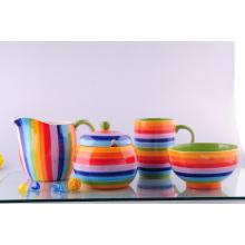 Juego de cena pintado de cerámica (CZJM8510)