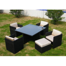 Garden Furniture/ Rattan Furniture/Patio Furniture Chairs and Table (7020)