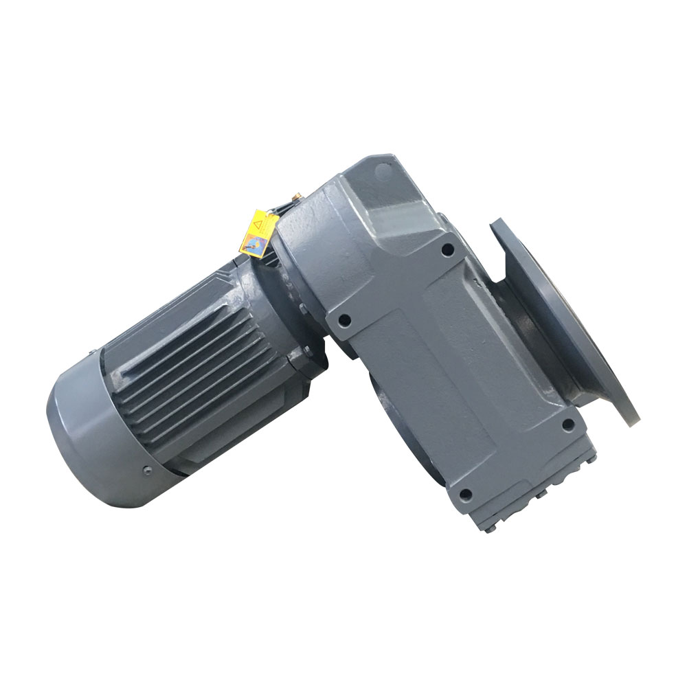 F Series Vertical Geared Speed ​​Reducer Dengan Motor