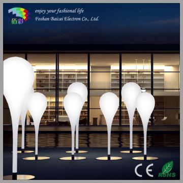 Lampe de sol à LED extérieure