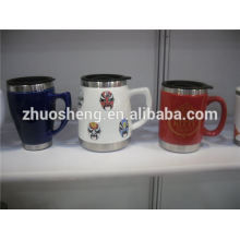 most popular products heart shape ceramic mug, ceramic chalk mug