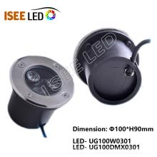 Lumière de jardin souterraine de LED