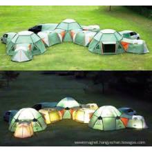 Luxury 4 People Waterproof Camping Tent