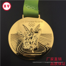 Médailles en métal Sprot avec lanière
