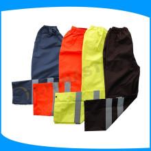 Nuevos pantalones negros de alta visibilidad con reflexivo