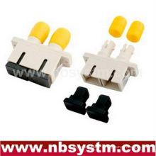 Adaptateur en plastique duplex SC / ST