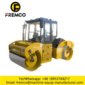 Single Double Drum Road Roller