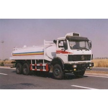 BEIBEN 6X4 used water truck tanks for sale