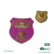Regalo de la promoción de Navidad Pin de la solapa del payaso de oro
