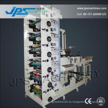Jps480-6c-B 6 Color Autoadhesivo Etiqueta En Blanco Etiqueta De Prensa Imprimir