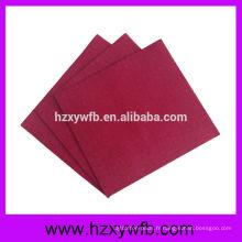 Serviettes une pli pour papier découpé Airlaid Serviettes pliées papier