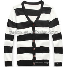 12STC0746 striped mens cardigan sweaters wholesale