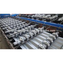 Máquina de formação de rolo de folha de telhado / máquina de formação de rolo de aço ondulado