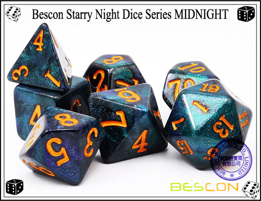 Starry Night Dice-1