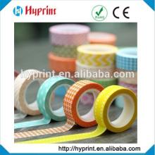 bande de papier washi imprimé personnalisé fabriqué en Chine