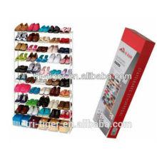 50 pairs wrought iron jordan shoe rack