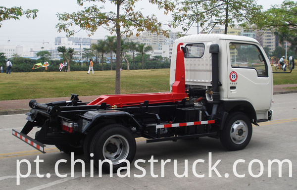 Dongfeng 3Ton detachable garbage truck