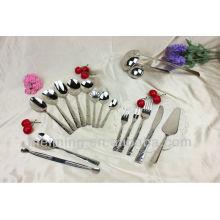 Juego de cena de alta calidad, juego de cubiertos, cuchillo y tenedor