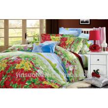 Linge de lit 100% pur, literie confortable et bel ensemble de literie