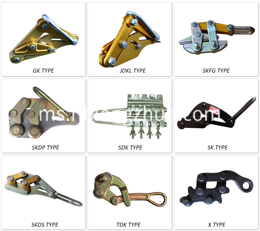 different types of come along clamp