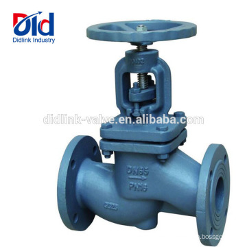 Manual Nibco High Pressure Y Control Crane Cryogenic Trim Cast Iron Globe Valve Disc Type Brass