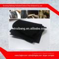 Tela activa de la fibra de carbono del carbón de leña del contenido del carbón del 100% para los zapatos, bolso, filtro, uso médico