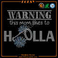 This mom likes a Holla cheer rhinestone transfer patterns