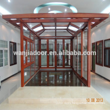 Wanjia aluminum sunroom, garden house, glass house