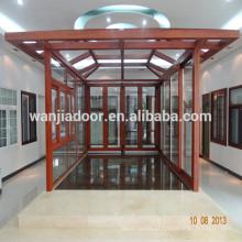 Wanjia marquise de alumínio, casa de jardim, casa de vidro