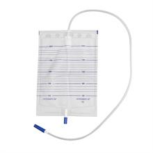 Saco de urinol econômico em pvc de grau médico hospitalar de 2.000 ml