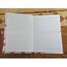 Плюшевая записная книжка