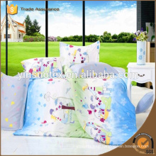 Hot New Product High grade Luxury cheap polyester fashion printed bedding set