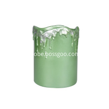 Table Fountain Green Candle