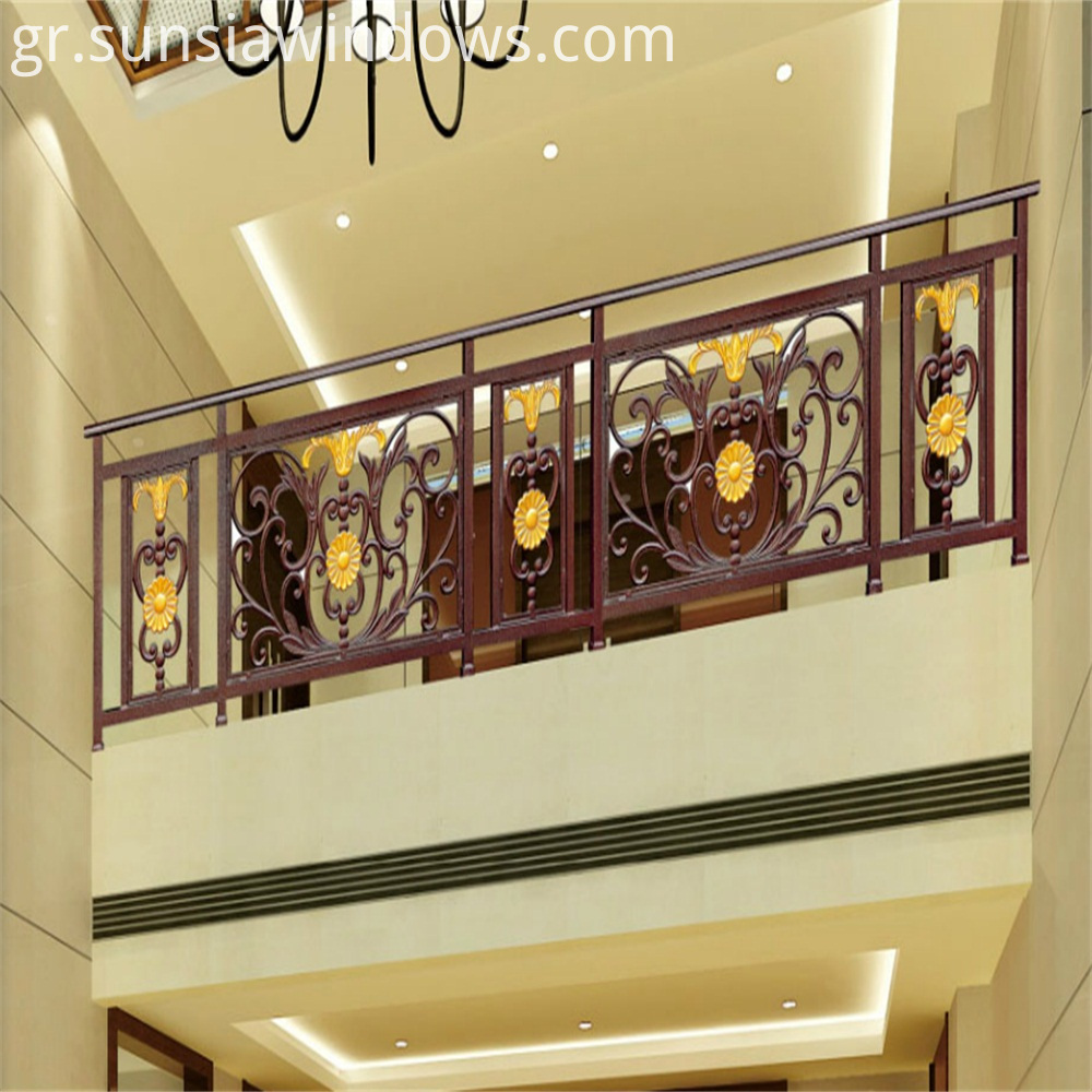 Fashion Design Aluminum Balcony Rails