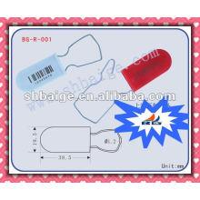 Selo de cadeado BG-R-001 para uso de segurança Selo de cadeado, selo de vedação, selos de segurança de contêiner, trava de contêiner, cadeado de aço inoxidável pequeno