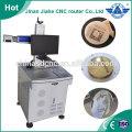 Surface marking fiber laser machine engraving on metal 10w