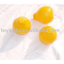 plastic fruit pomelo toys for kids
