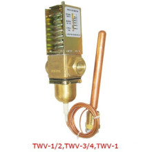 CE approved water flow control valve