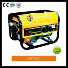 Buckcasa moldura quadrada 2.2kw poder manual gasolina gerador
