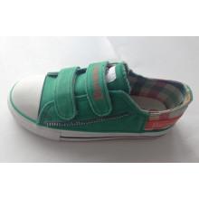 Горячие продажи детей холст обувь Вулканизированная обувь (SNK-02011)