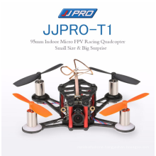 Newest DIY Mini Drone JJRC JJPRO T1 95mm FPV Drone Racing ARF With 5.8G 40CH 800TVL Naze32 Brushed FC MD8520 Motor Multicopter
