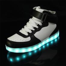 PU-Kautschuk LED Schuhgröße Unisex LED Sneaker groß