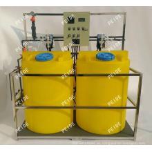 Medidores de pH y conductividad Sistema de dosificación química