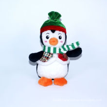 Plush Christmas Decoration Penguin