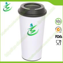 24 Unze Werbe-Kaffeetasse mit BPA-freiem Material