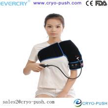 hombreras / gorro para guardia deportivo con terapia de frío y compresión