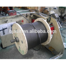 Gustav Wolf elevator steel wire ropes/elevator ropes