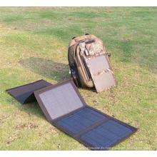 20W pour le sac électrique pliable de chargeur d'énergie solaire de livre d'iPad de téléphone portable
