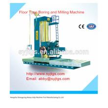 Taladradora y fresadora de piso de CNC de alta precisión para la venta caliente