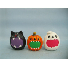 Halloween Pumpkin Ceramic Arts and Crafts (LOE2373-6)